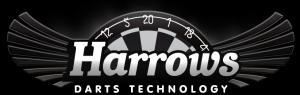 Logotipo de la marca de dardos Harrows